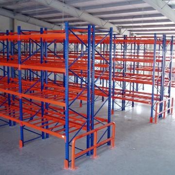 Automated Warehouse Storage System Pallet Runner Radio Shuttle Rack