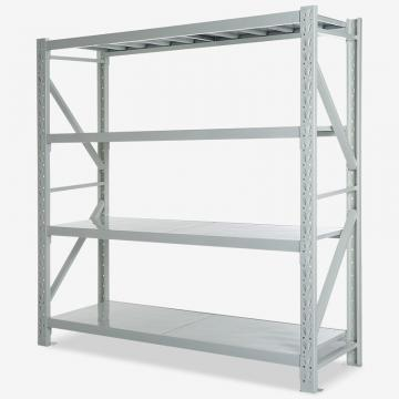 BYT Adjustable Steel Shelving Storage Rack System Warehouse Selective Medium Duty Pallet Rack