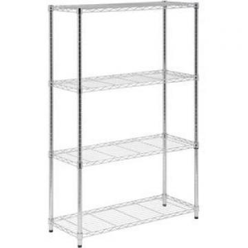 Retail Counter Display Rack, 3 Tier, Wire Nail Polish Display Stand