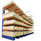 Q235 Steel Heavy Duty Cantilever Storage Racks Pipes Lumber Sheet Longer Material