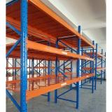 Pallet racking system heavy duty double deep rack for warehouse storage